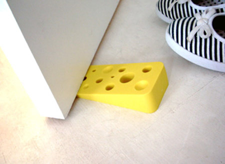 Swiss Cheese Door Stop