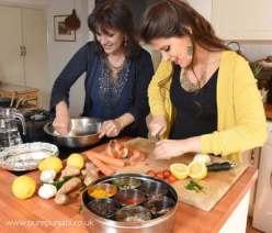 Pure Punjabi Indian Cookery School-mother & daughter Surinder-Safia