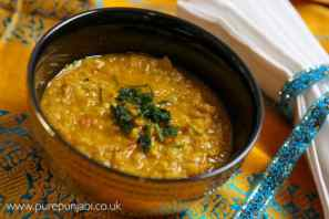 Pure Punjabi Dhal as featured in The Telegraph