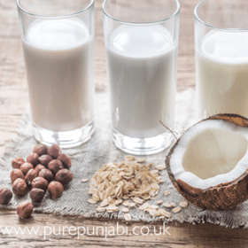 Dairy free milk / mylk alternatives
