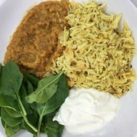 Pure Punjabi Masoor di dhal red lentil dhal