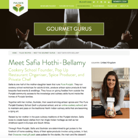 Pure Punjabi Safia Gourmet Guru for Love Pulses