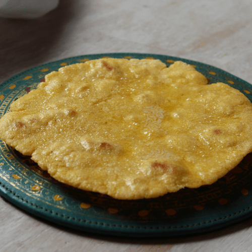 Makki di roti corn flatbread gluten free
