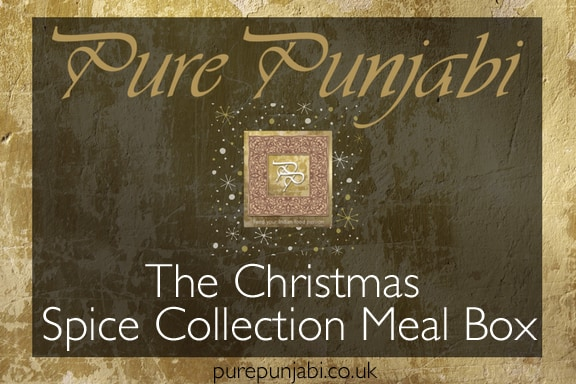 The Pure Punjabi Christmas Spice Collection Meal Box