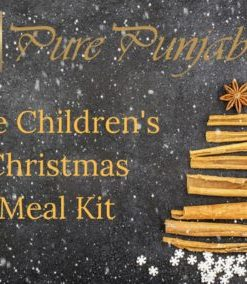 The Pure Punjabi Children's Christmas Meal Kit Indian food