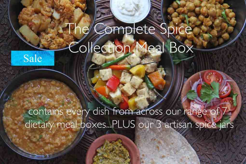 Pure Punjabi complete collection meal box meal prep