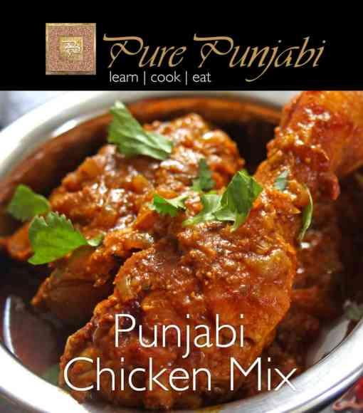 Pure Punjabi's Punjabi Chicken Mix, Indian meal kits, purepunjabi.co.uk