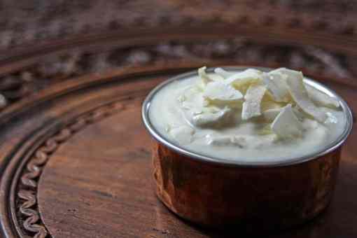 Coconut & sesame chutney, meal kits, vegan yoghurt, yoghurt dip, purepunjabi.co.uk