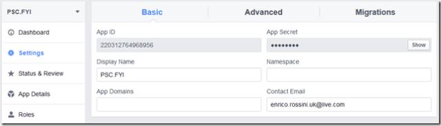 Facebook-Developer_Settings