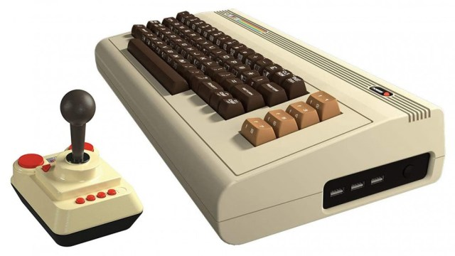 Commodore VIC20 with joystick