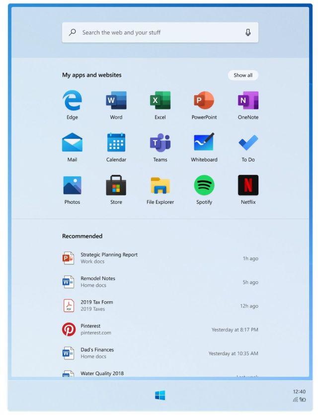 Windows10X Screenshot