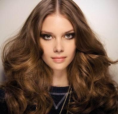 spring hair trends 2012 - center part