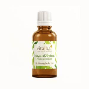 Huile végétale noyau abricot vitalba