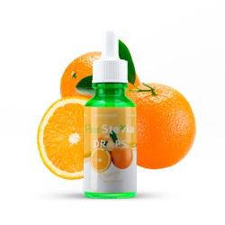 Stevia drops orange
