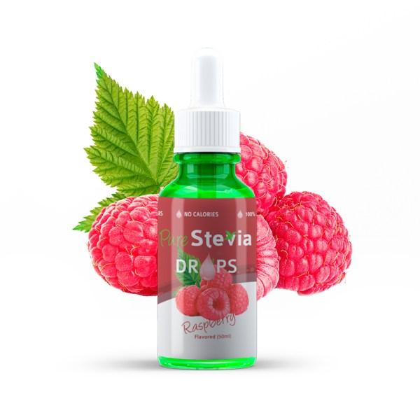 purestevia raspberry drops 50ml