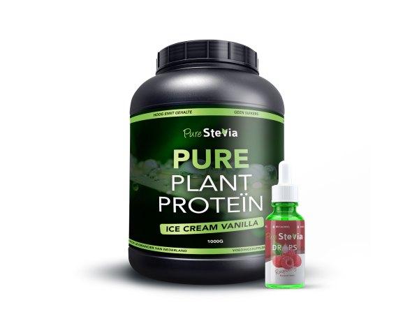 Pure protein raspberry