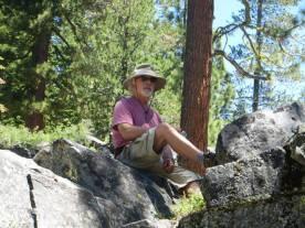 Geoff Panek at Jackson Meadows