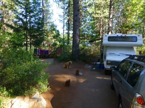 Giant Gap CG, Sugar Pine lake
