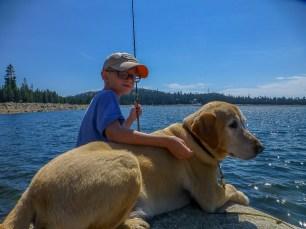 Loon Lake - fishing buddies