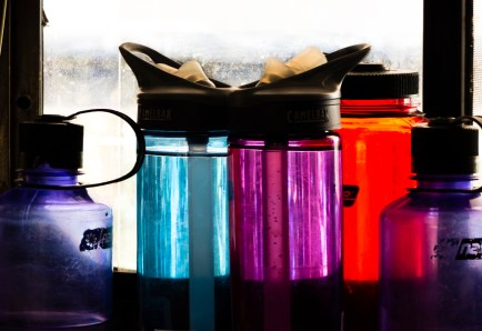 bottles colors