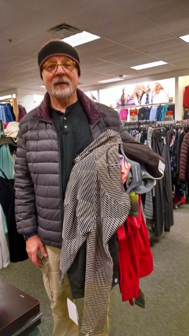 Shopping at Kohls
