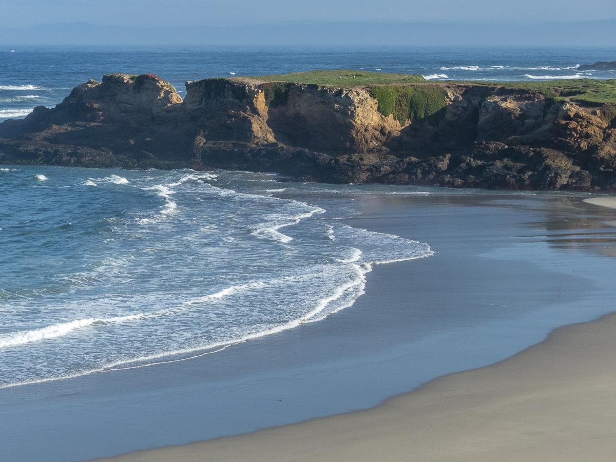 Mendocino Coastline at Fort Bragg, CA