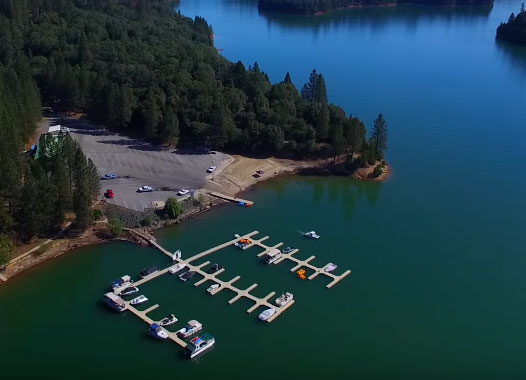 Rollins Lake Drone Video