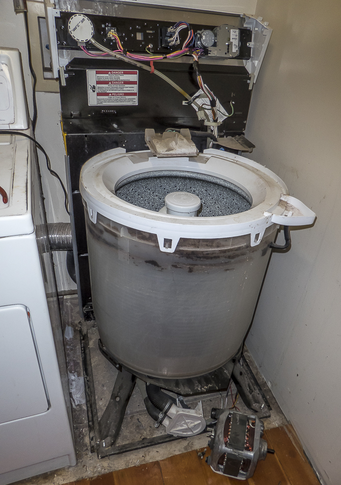 Washing Machine Won't Drain or Spin