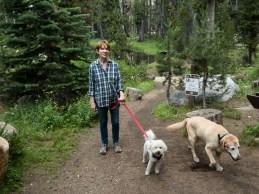 Trail head for desolation wilderness