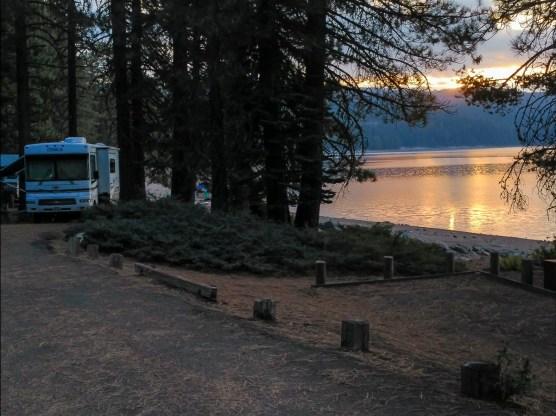 Sunrise at Bucks Lake