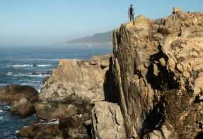 Amazing shear cliffs