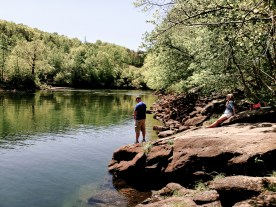 Fishing on the Chattawoochee