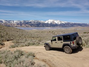 On the jeep trail