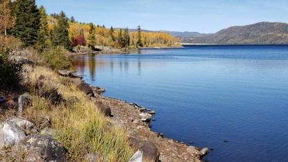 Trail around Fish Lake