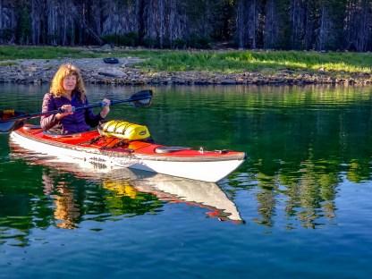 Unni kayaking