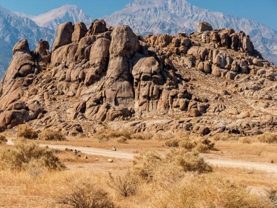 Skull Rock at Alabama Hills