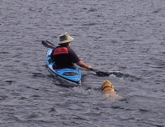 He loved to swim