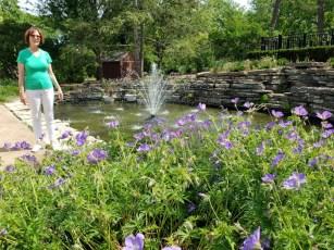 Kate at lilac park