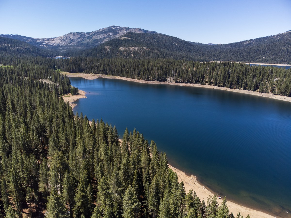Jackson Meadows Camping, First in 2021