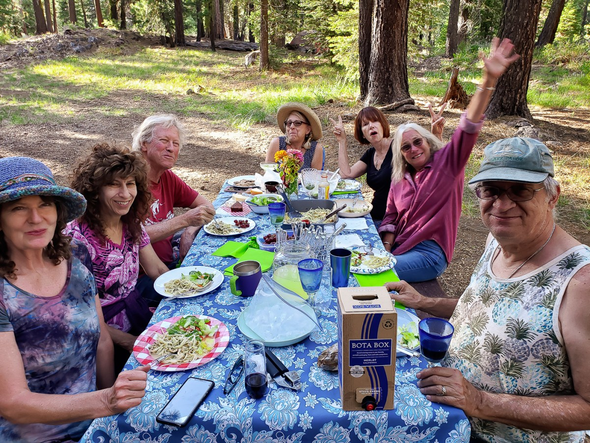 Annual 2021 Birthday Mountain Climb and Jackson Meadows Group Campout