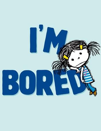 Website customer says I am bored
