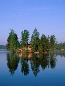 Lago in Svezia