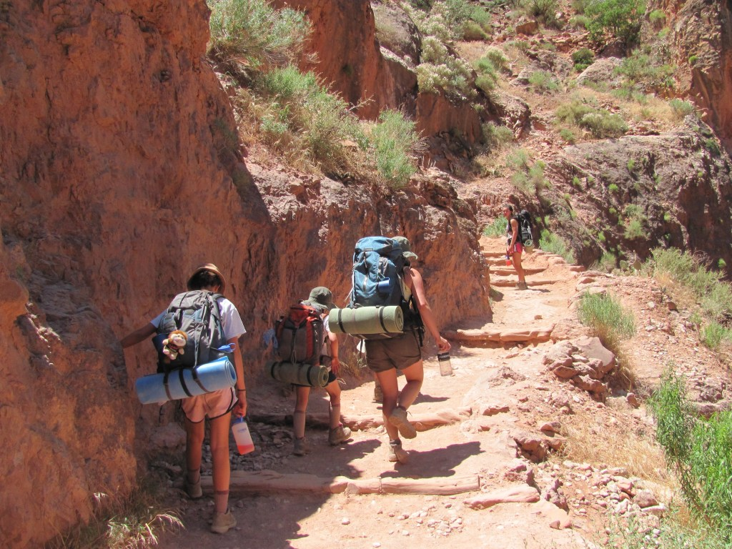 Hiking the Bright Angel Trail