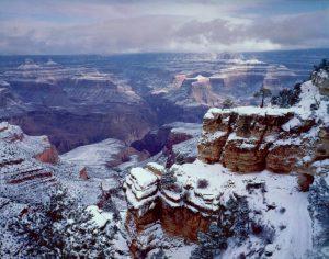 South Rim, Winter, Grand Canyon National Park, Arizona