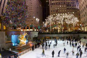 Christmas Rockefeller Center Plaza
