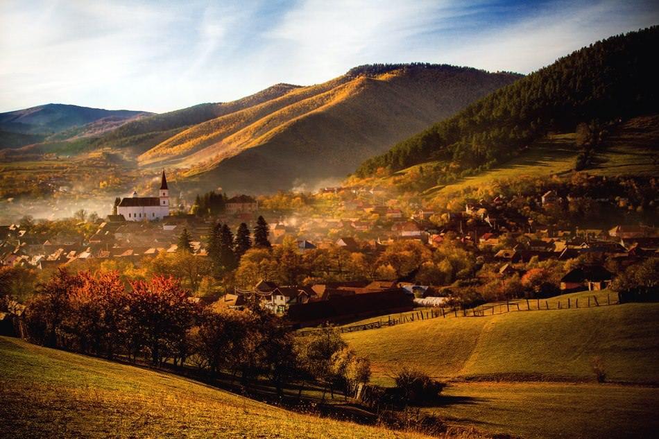 Outdoors in Romania