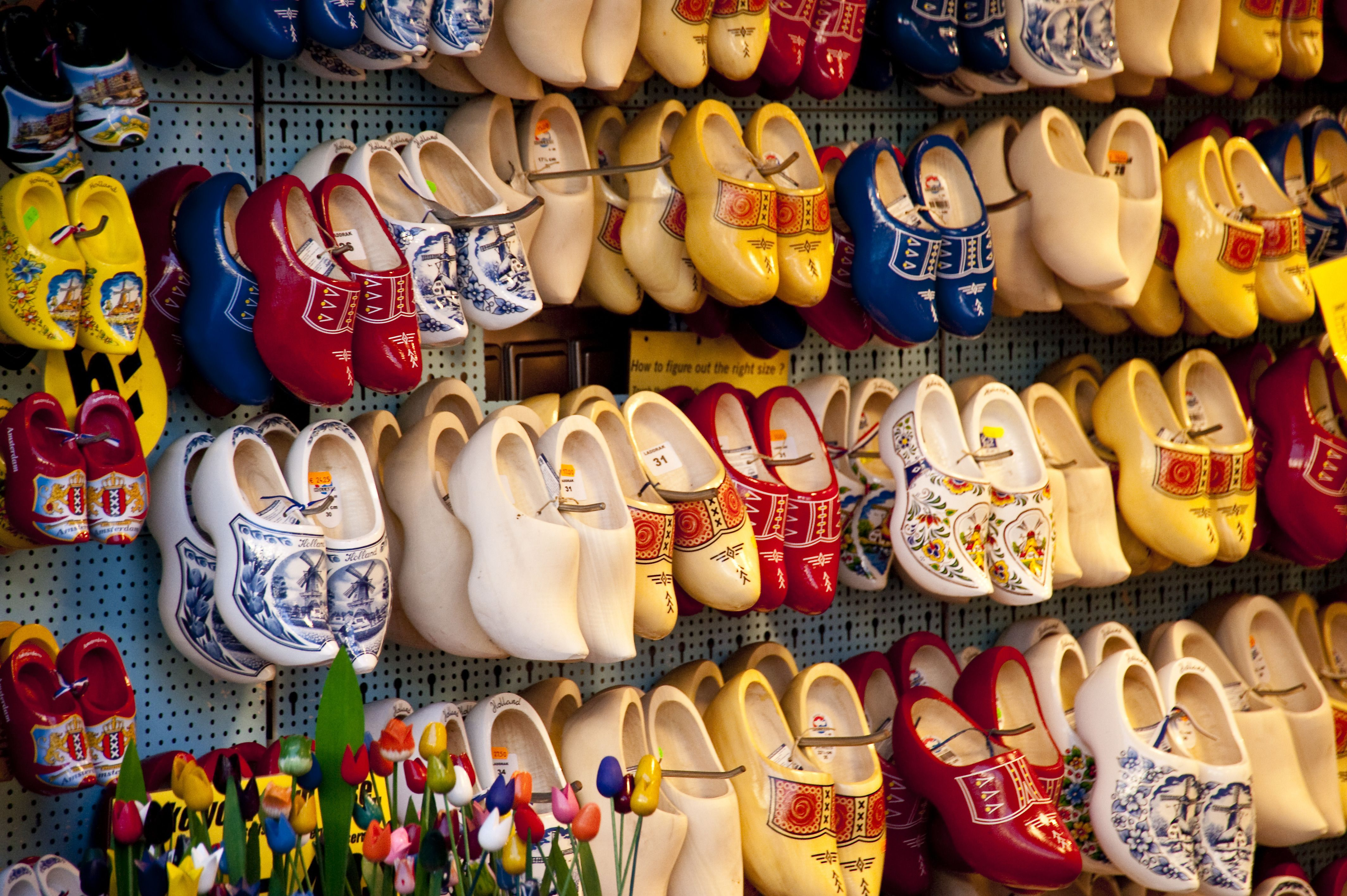 Clogs in Amsterdam