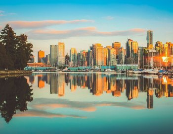 Bustling Vancouver