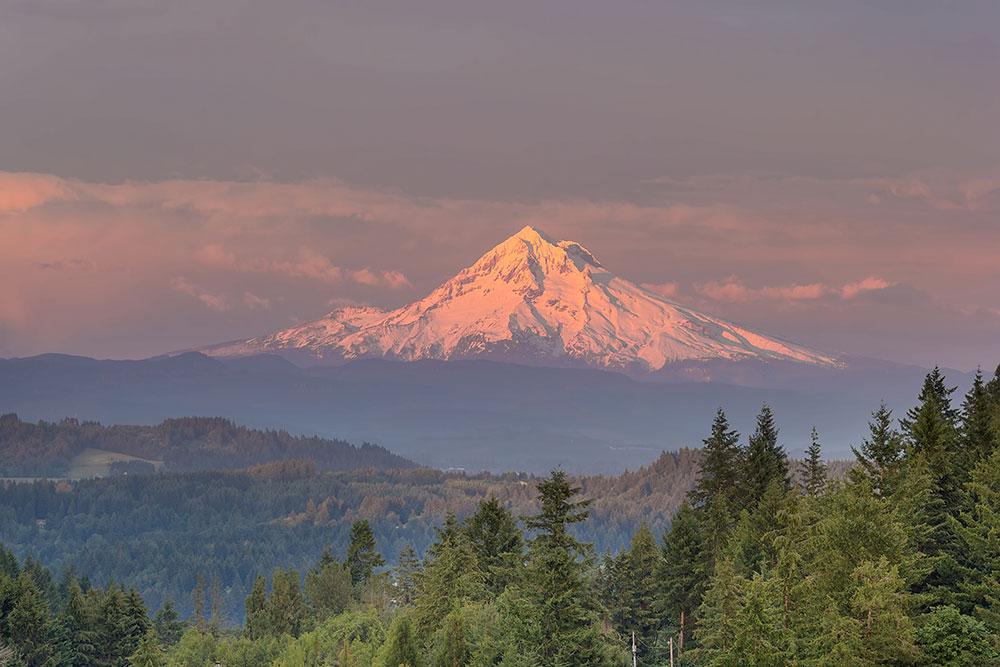 Mount-Hood-Alpenglow-Sunset