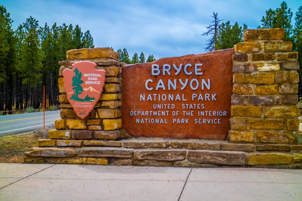 A welcoming signboard at the entry point of the preserve park